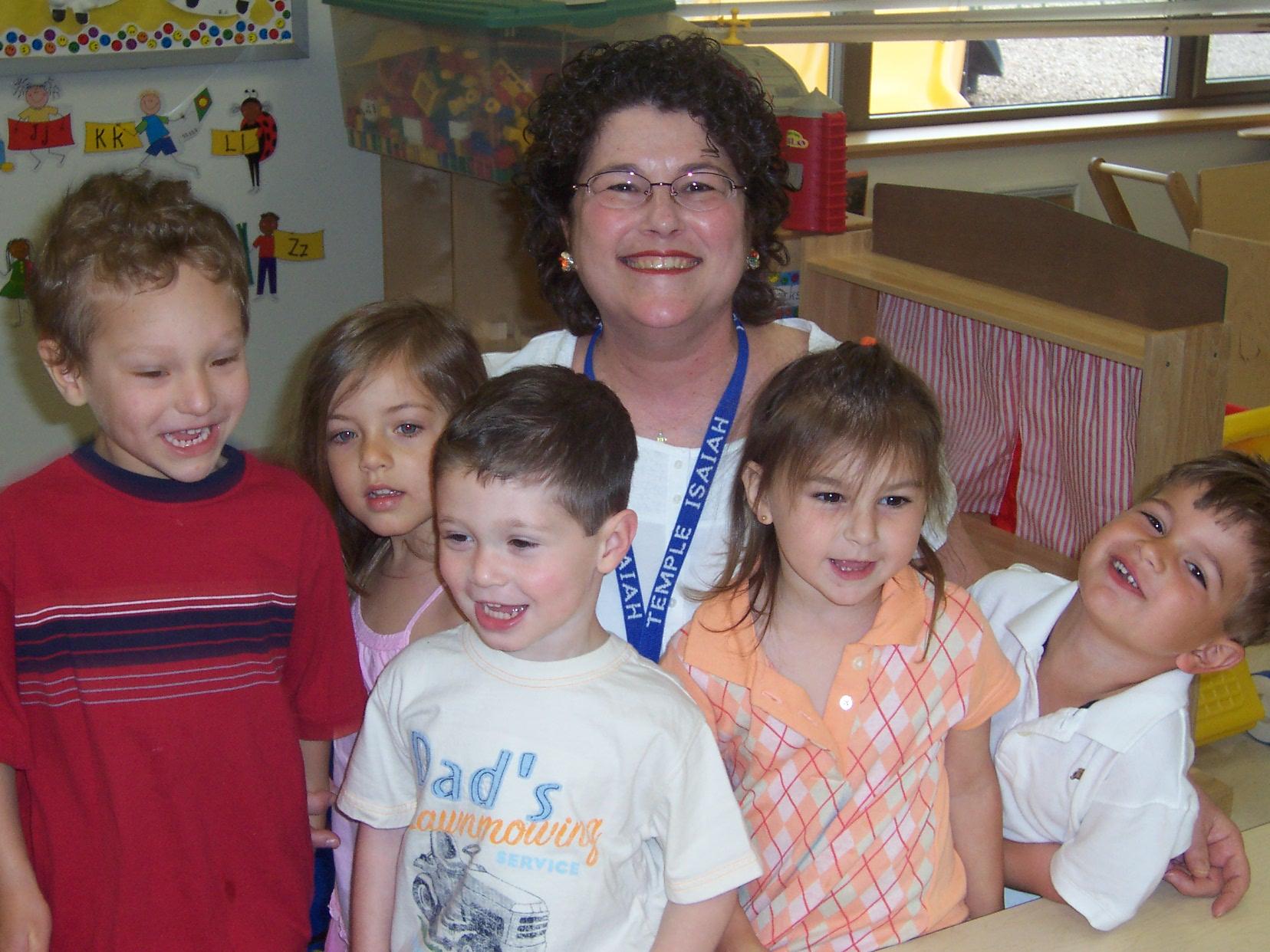 Renee and preschoolers